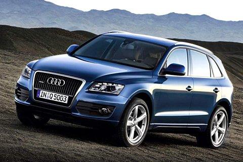 Audi Q5 – обладатель богатой базовой комплектации